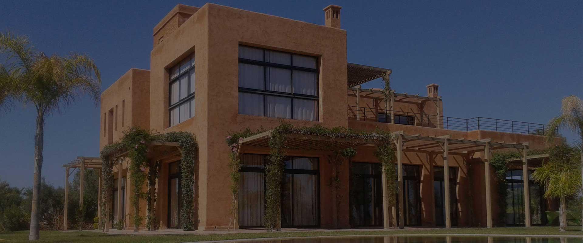 Immobilier de luxe et de prestige marrakech for Achat maison marrakech